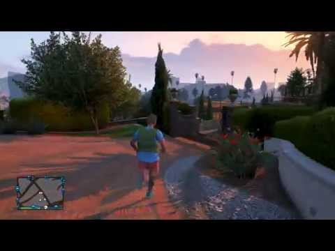 GTA 5 Online - How to Get Inside Michaels House GLITCH !! TUTORIAL!