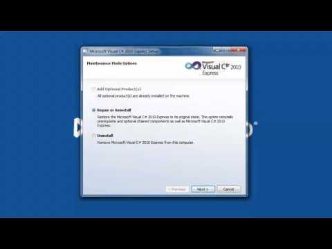 Como Baixar o Microsoft Visual C# 2010 Express