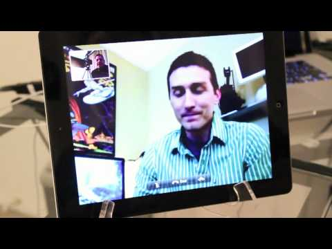 iPad 2 FaceTime Demo
