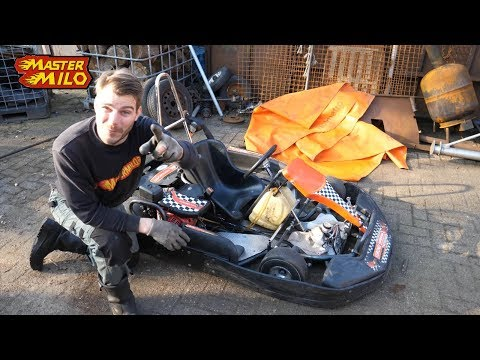 Honda Gokart - how to check & fix a simple engine DIY