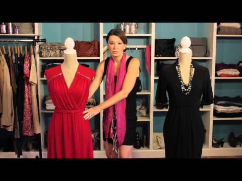What Kind of Formal Dresses Hide a Flabby Tummy? : No-Stress Dress
