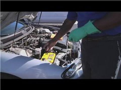 Cleaning Your Car : How to Clean Battery Cables