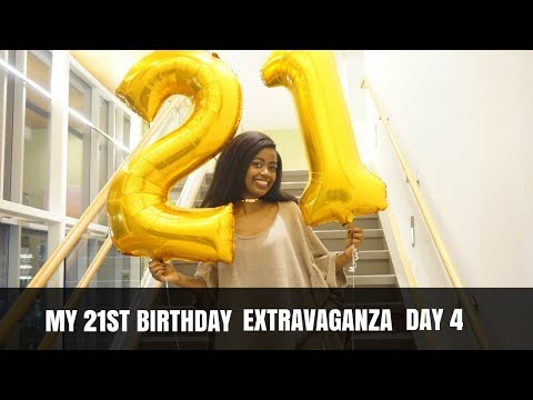 MY 21ST BIRTHDAY EXTRAVAGANZA || Day 4: My Birthday