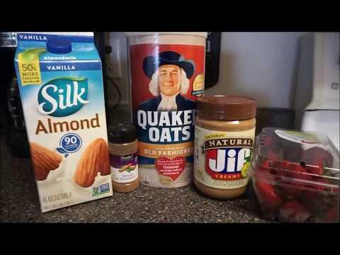 How I make OVERNIGHT OATS! (EASY)   Healthy Gains