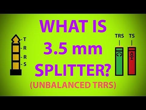 3.5 mm TRRS splitter | Explained