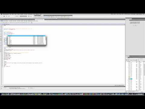 How to create a email form in Dreamweaver CS5.5 Pt 2
