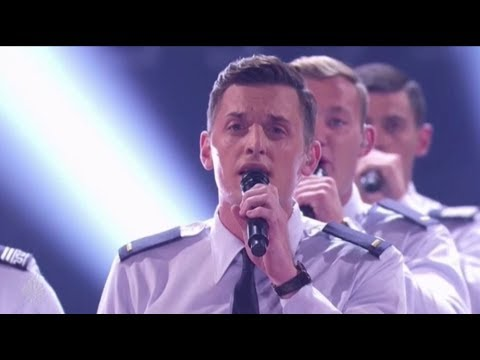 In The Stairwell: US Air-force Acapella Group KILL it on The LIVE Stage | America's Got Talent 2017