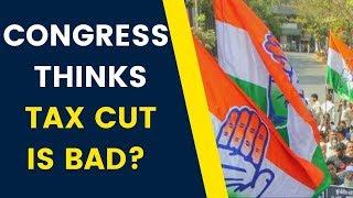 Protest outside FM Nirmala Sitharaman's home; Congress thinks tax cut is bad? | NewsX