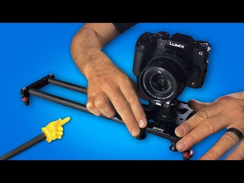 BEST Budget Camera Slider on AMAZON?? Get Better B-Roll!!