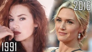 Kate Winslet (1991-2016) all movies list from 1991! How much has changed?Before and Now! Titanic