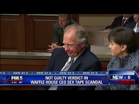 Not guilty verdict in Waffle House CEO sex scandal
