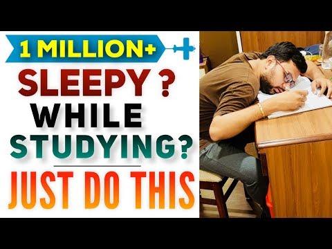 जब पढ़ते समय नींद परेशान करे, केवल ये करें | Easily Avoid Sleep While Studying | Scientific Technique
