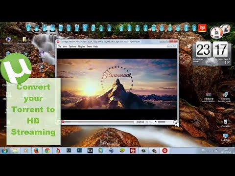 Watch torrent streaming on your computer in two step without downloading anything/ 2014