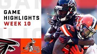 Falcons vs. Browns Week 10 Highlights | NFL 2018