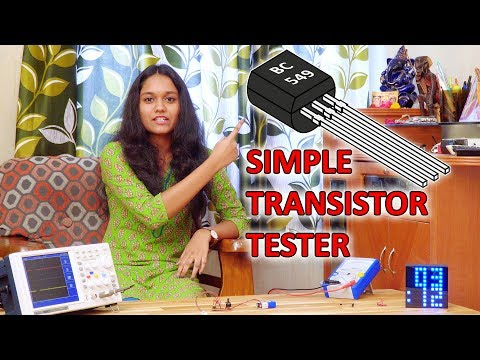 Simple and Easy Transistor Tester under 30Rs