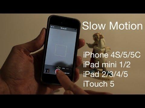 Avoir le slow motion de l'iPhone 5S sur tous les appareils iOS