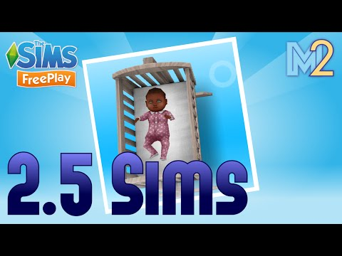 Sims FreePlay - Two and a Half Sims Baby Quest (Let's Play Ep 5)
