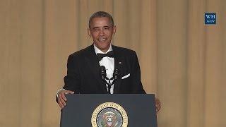 President Obama Speaks at the White House Correspondents' Association Dinner