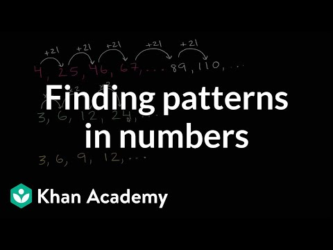 Practice finding patterns in numbers | 3th grade | Khan Academy