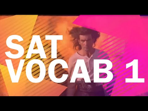 SAT Vocabulary 1 - SAT Words - Better than Memorizing!