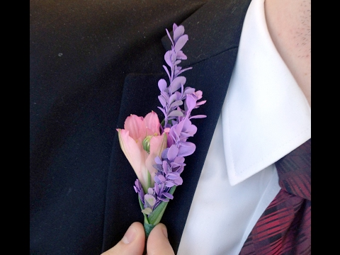 DIY prom: How to make a boutonnière