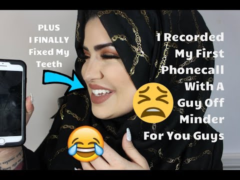 My Weekly VLOG - 5 - Listen to My Phone Convo with a guy off Minder PLUS I FIXED MY TEETH!