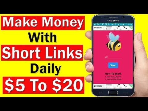 How To Make Money Online With Shorten Links Using Android App In UrduHindi