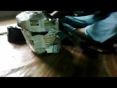 Paper Helmet Making!