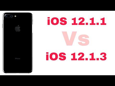 iOS 12.1.3 vs iOS 12.1.1 Speed Test on iPhone 7 Plus | iSuperTech