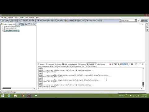 Sample Maven based Web Application