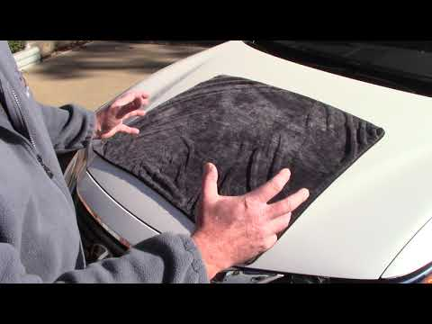World's LARGEST Drying Towel For Cars - Suv's - Trucks!