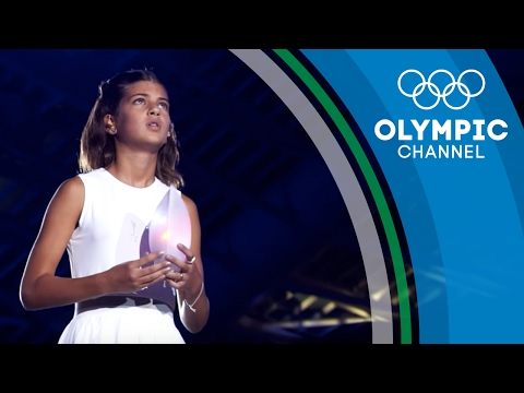 Meet the Greek Girl Who Blew Out the Olympic Flame 12 Years After | Flame Catchers
