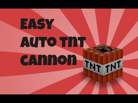 Minecraft Xbox One Edition: Easy Auto TNT Cannon