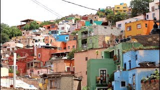 #733 The Beautiful and Colorful Guanajuato Mexico - Jordan The Lion Daily Vlog (8/9/18)