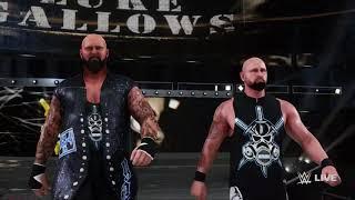 WWE 2K18 Luke Gallows & Karl Anderson entrance video
