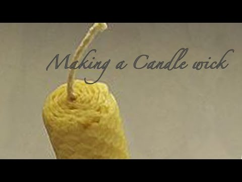 Nancy Today: How to make perfect candle wicks