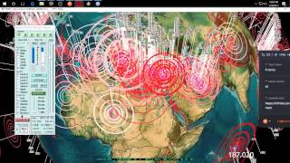 1/18/2017 -- Nightly Earthquake Update + Forecast -- Italy struck by large EQ -- 48hr watch zones