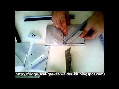 Refrigeration Gasket Replacement Business - Fridge Seal Corner Welding Machine