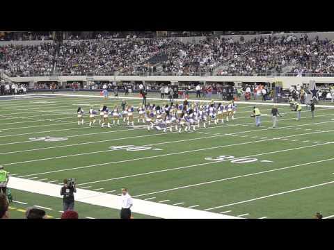 Cheerleaders - Dallas Cowboys vs New Orleans Saints at AT&T Stadium on November 25, 2010