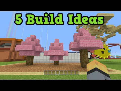 Minecraft Xbox 360 + PS3 5 Survival Building Ideas
