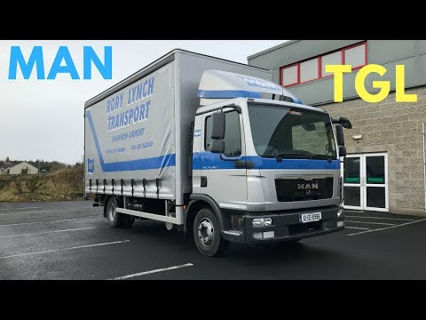 MAN TGL 10.180 Truck - Full Tour & Test Drive - Stavros969