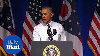 Obama: Republicans deserve