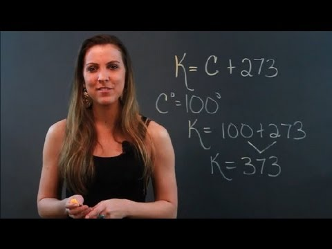 How to Convert Something From Celsius to Kelvin : Math Tips