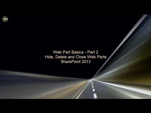 Web Part Basics in SharePoint 2013 - Part 2