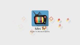Mini Tv - Mobile App Promotion Video