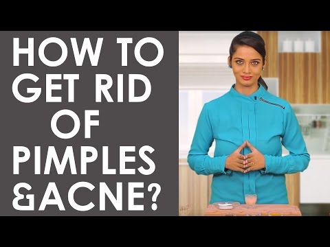 3 Best Home Remedies To GET RID OF FOREHEAD PIMPLES, ACNE & BUMPS