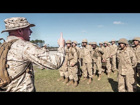 Drill Instructor Gives His Motivation For Training Recruits