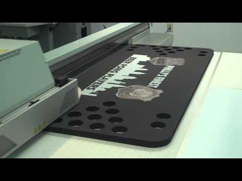 KDF - Custom Flatbed Printing - Floating Beer Pong Table