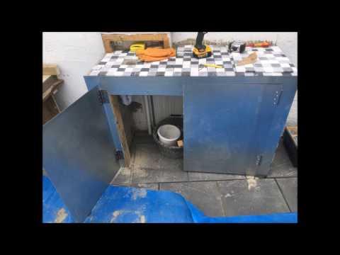 How to build Kitchen in Garden