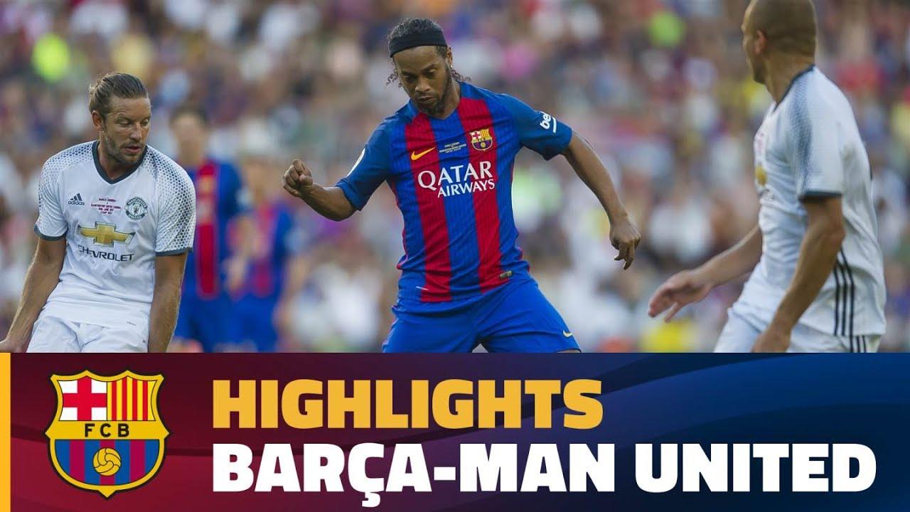 [HIGHLIGHTS] Barça Legends – Manchester United Legends (1-3)